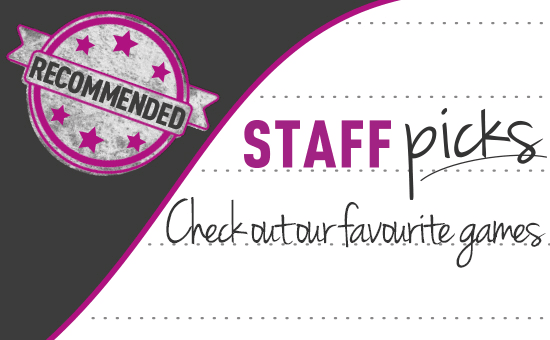 Staff Picks at GAME.co.uk - Check out our favourite games