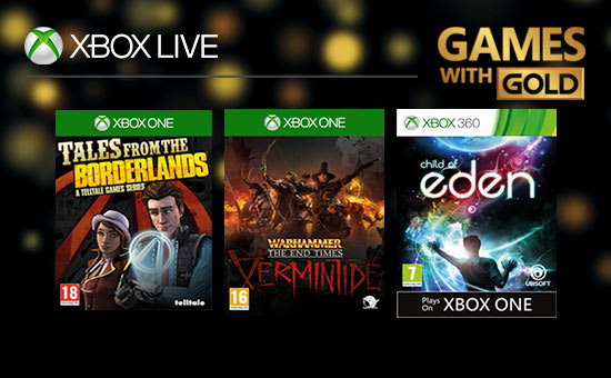 Games with Gold for Xbox Live GAME.co.uk!