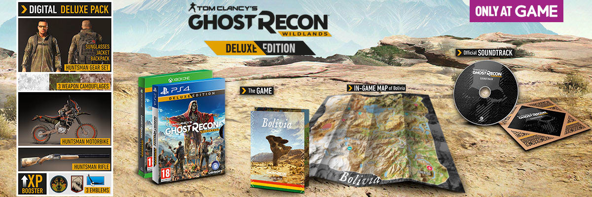 Ghost Recon: Wildlands Deluxe Edition