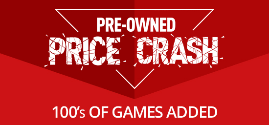 Pre-owned Price Crash now on at GAME.co.uk
