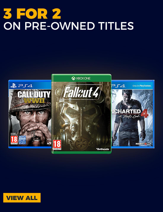 Pre-owned 3 for 2 Games - Buy Now