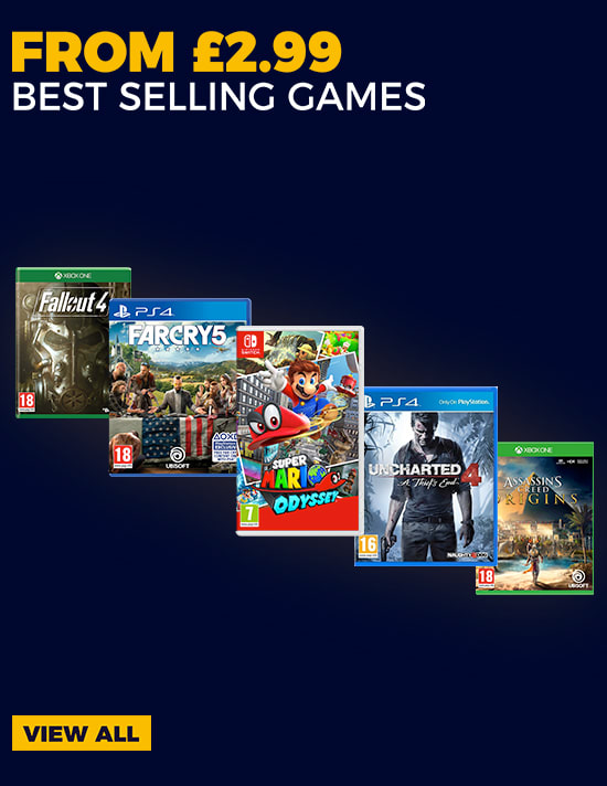 Get Best Selling Games for Less with Our Pre-owned Range - Find Out More