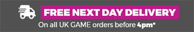 Free next day delivery on all UK GAME orders before 4pm