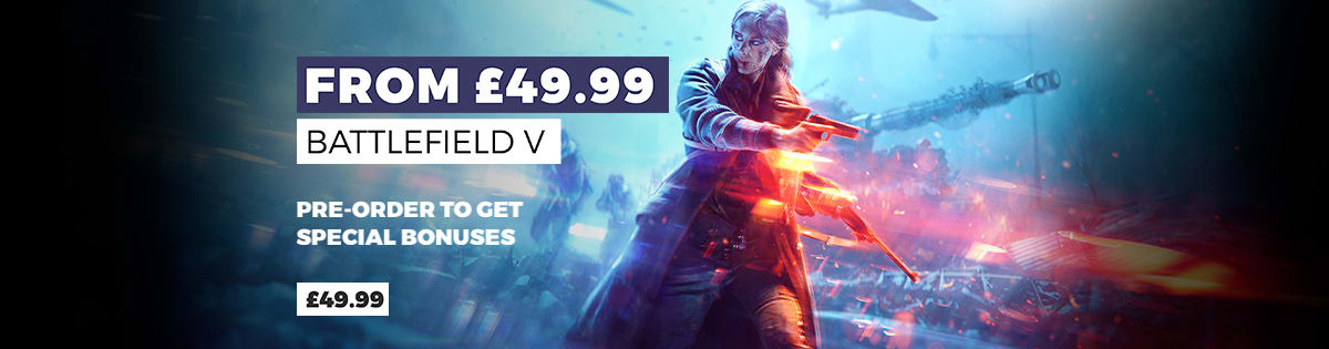 Battlefield V on Xbox One, PS4 & PC - Pre-order Now