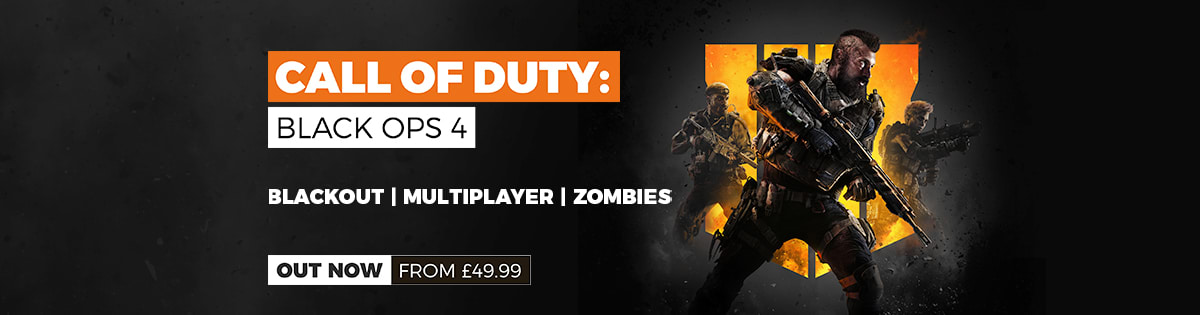 Call of Duty Black Ops 4 Out Now