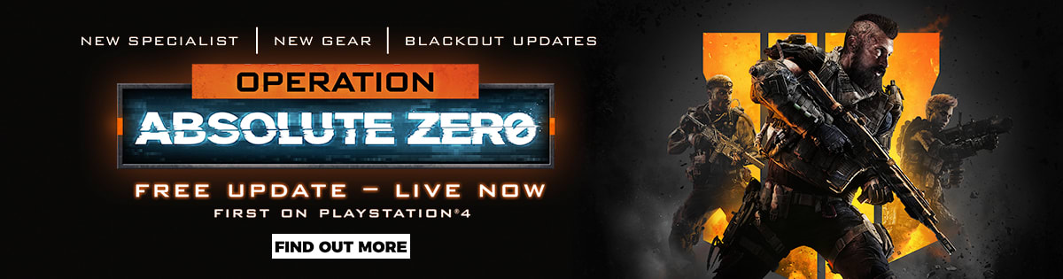 COD Black Ops 4 Operation Absolute Zero - Out Now!
