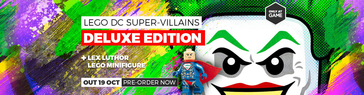 LEGO DC Super Villians - Pre Order Now!