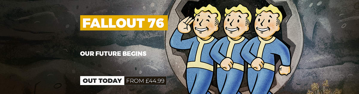 Fallout 76 Out Today!