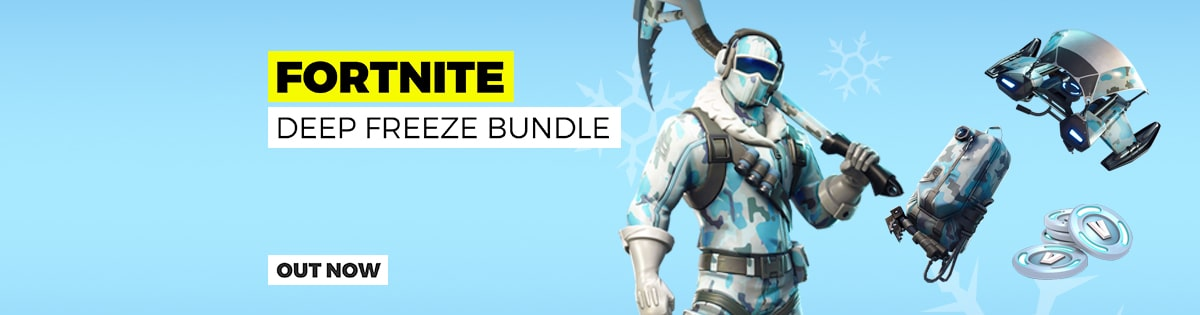 Fortnite Deep Freeze Bundle - Out Now!