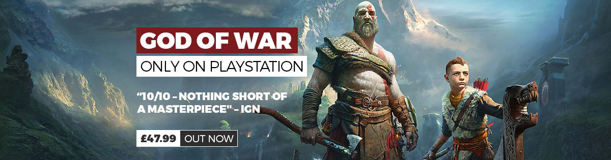 God of War for PS4 - Buy Now at GAME.co.uk