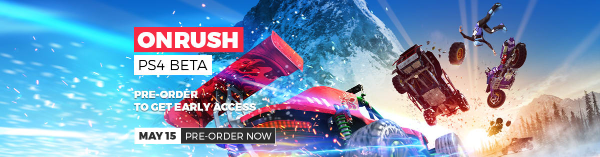 ONRUSH BETA - get early access