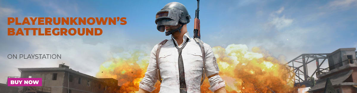 PUBG On Playstation 4 - Out Now