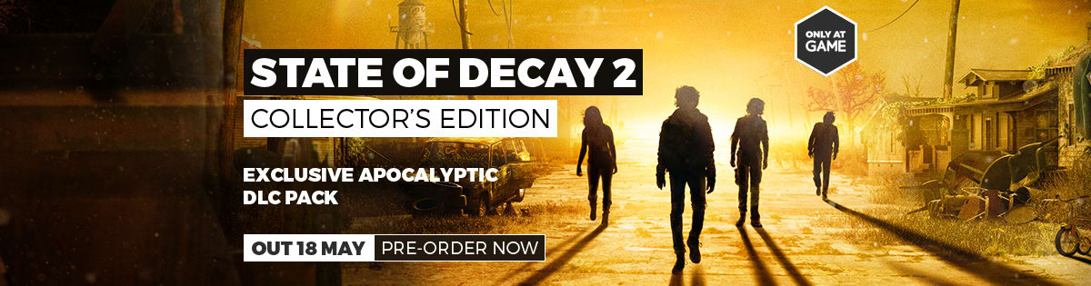 State of Decay 2 Collector's Edition - Pre-order Now at GAME.co.uk