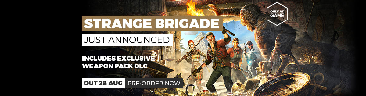 Strange Brigade Just Announced - Pre-order Now at GAME.co.uk