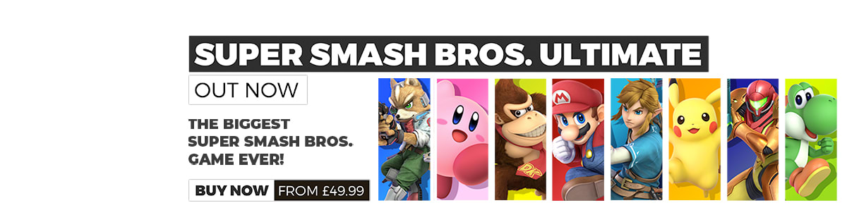 Super Smash Bros. Ultimate - Out Now!