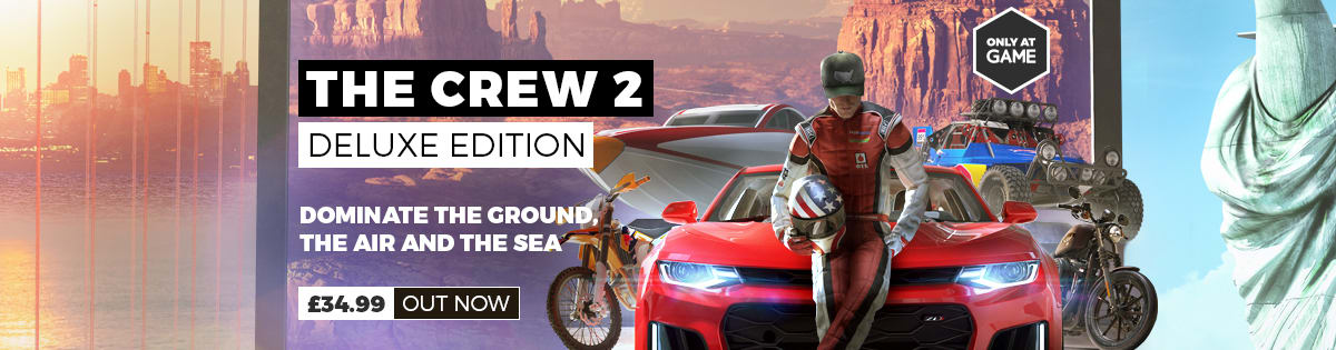 The Crew 2 - Pre-order Now at GAME.co.uk