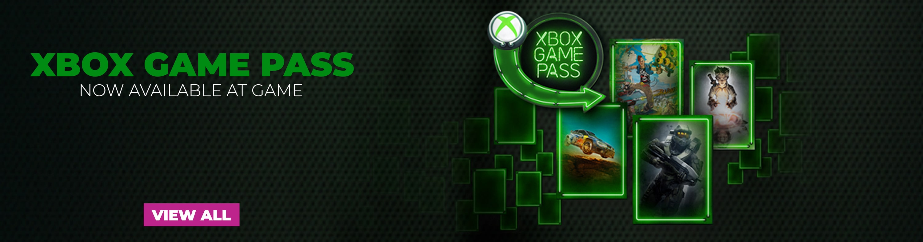 Xbox Game Pass - Now Available at GAME