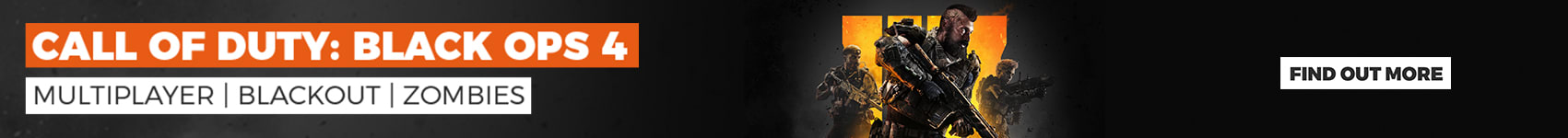 COD Black Ops 4 available now