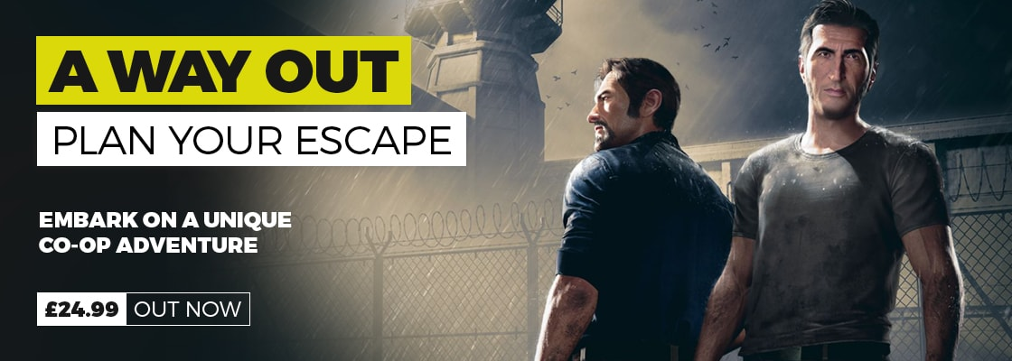 A way out out now at GAME.co.uk