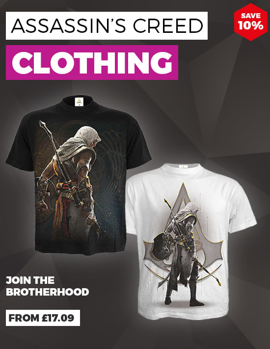 Assassin's Creed Clothing from £17.09 - Buy Now at GAME.co.uk
