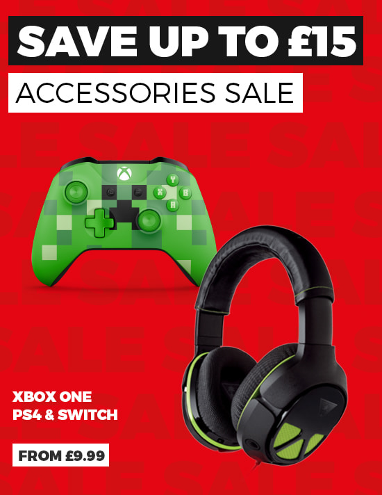 Accessory Sale - Save up to £15 - Buy Now at GAME.co.uk