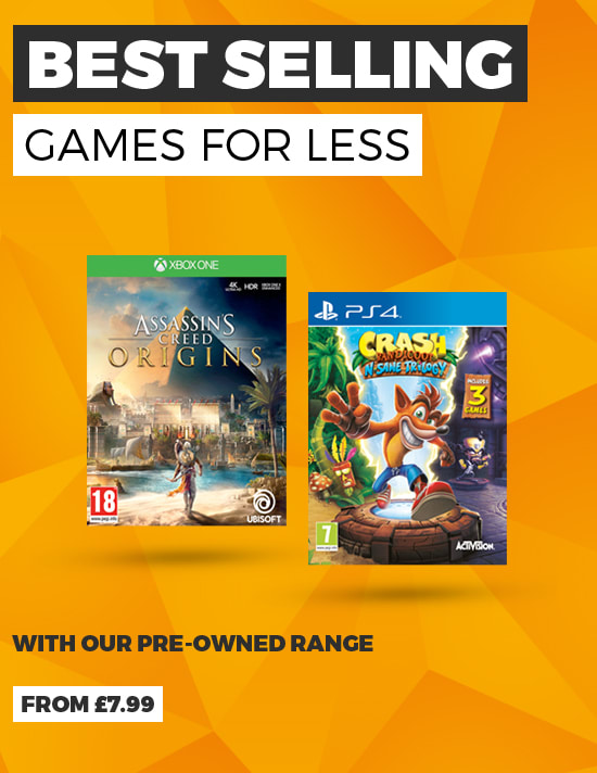 Pre Owned Best Sellers at GAME.co.uk