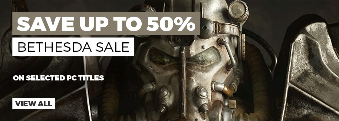 Bethesda PC Sale - Download Now at GAME.co.uk