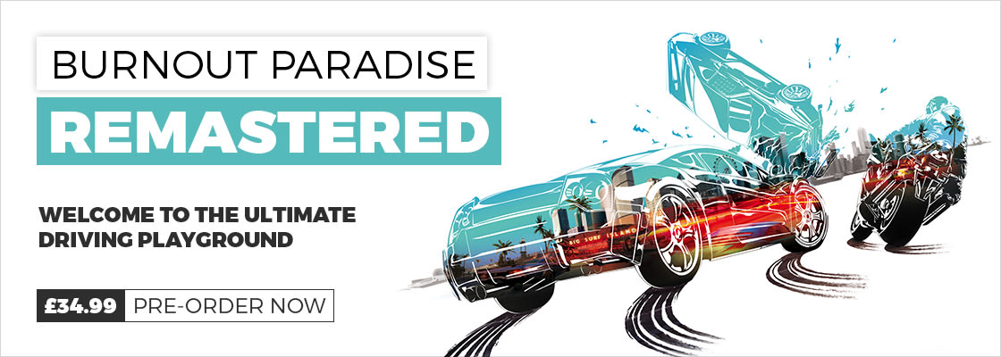 Burnout Paradise Remastered Pre Order