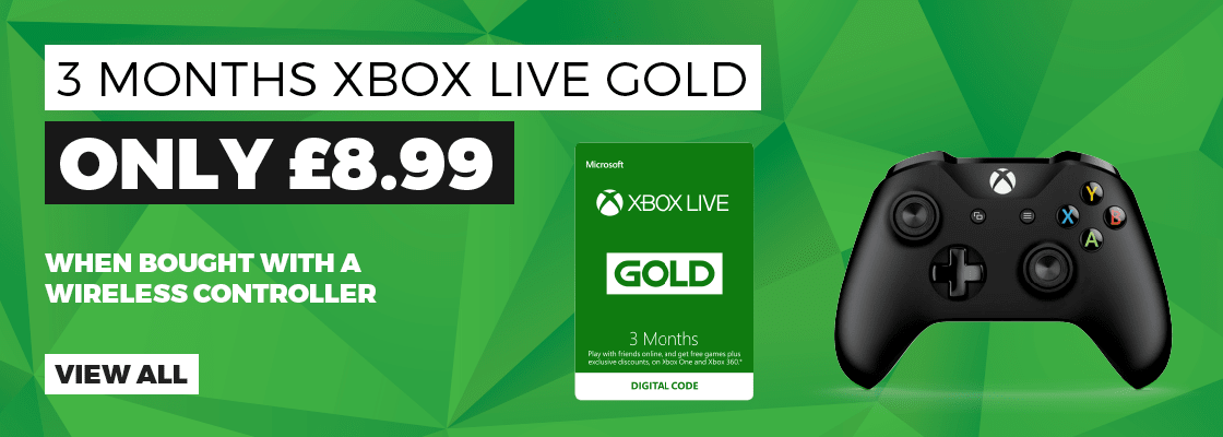 Xbox Live Gold and Xbox Controller Offer