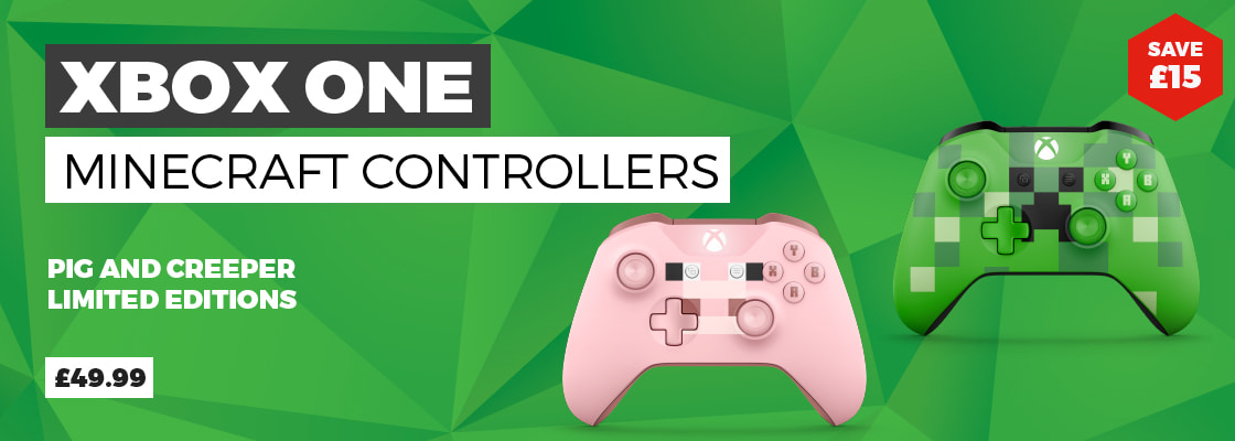 Minecraft Xbox One Controllers