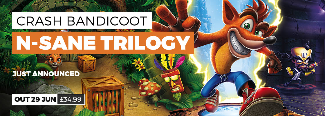 Crash Bandicoot on PC - pre order now at GAME.co.uk