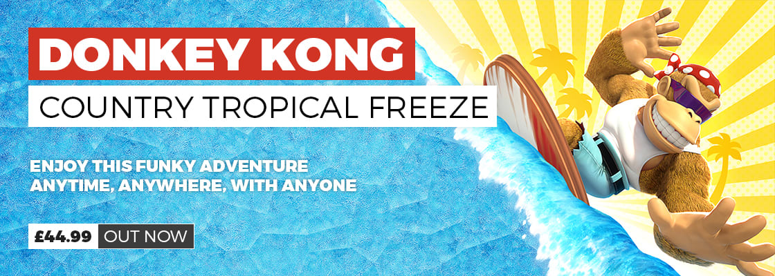 Donkey Kong Country Tropical Freeze on Nintendo Switch