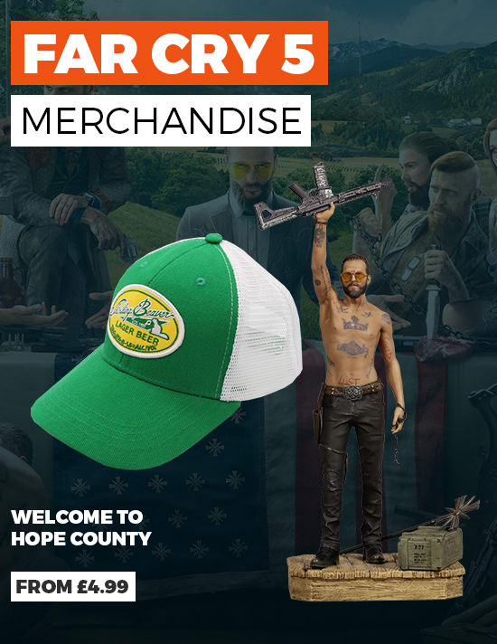 Far Cry 5 Merchandise - Buy Now at GAME.co.uk