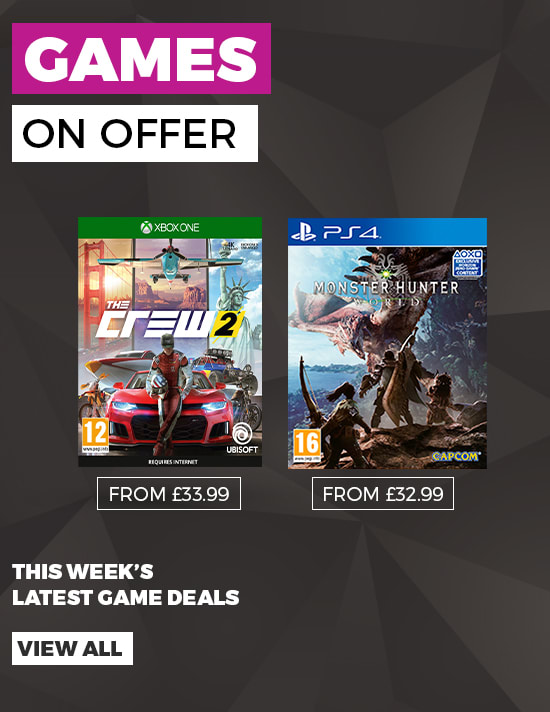 Games On Offer