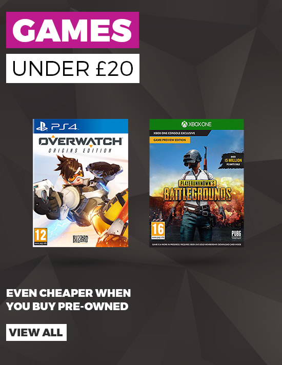 Games under 20 pounds