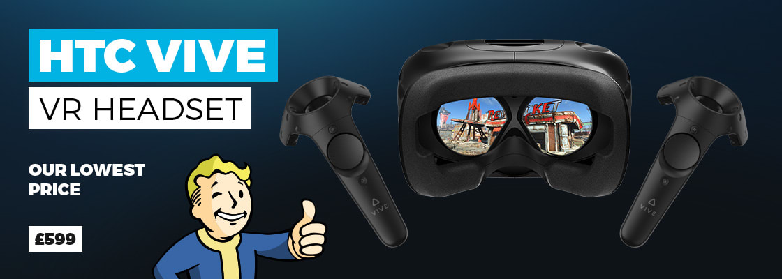 HTC Vive & Fallout 4 VR - Only £599.00 - Buy Now at GAME.co.uk