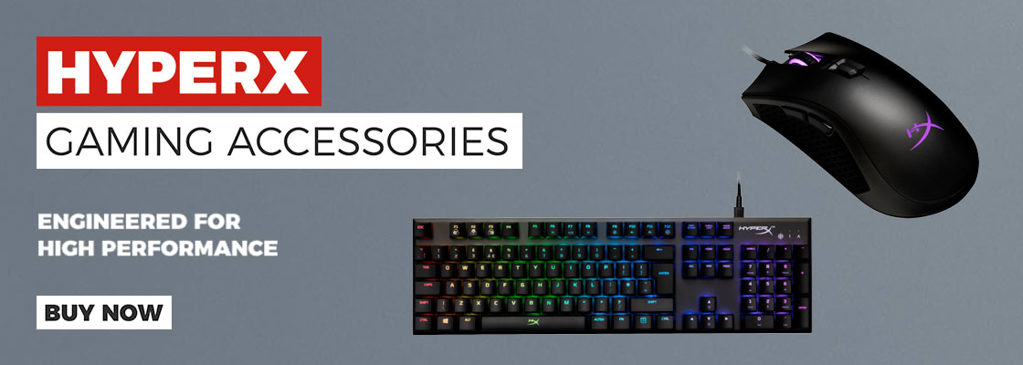 HyperX Gaming Accessories - Buy Now at GAME.co.uk