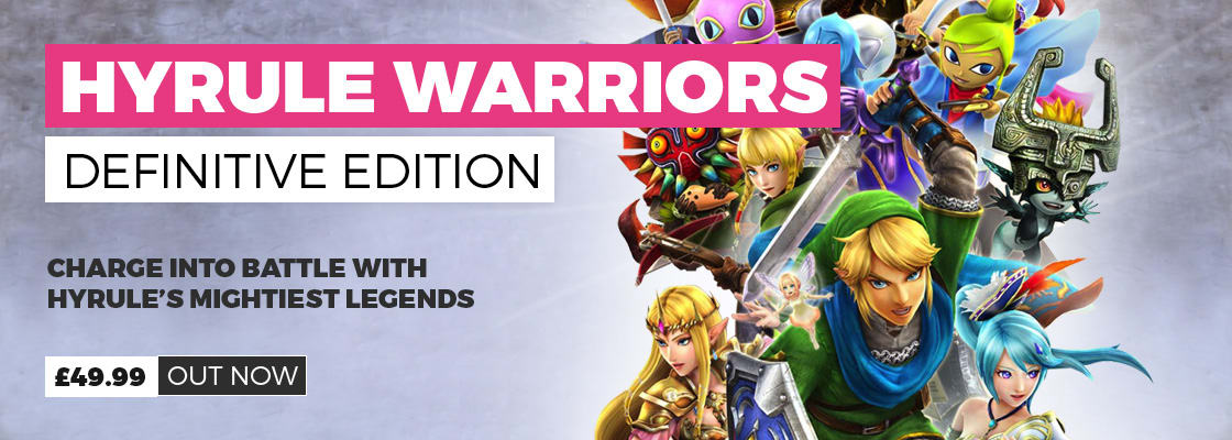 Hyrule Warriors: Definitive Edition on Nintendo Switch