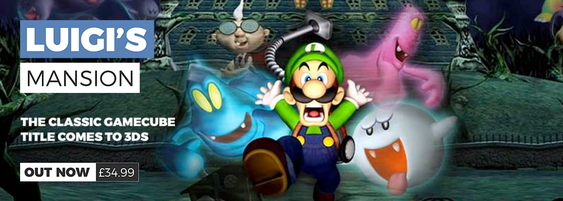 Luigi's Mansion on Nintendo 3DS