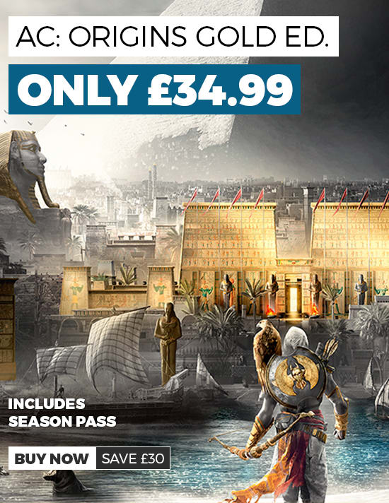 Assassin's Creed Origins GOLD Edition on Offer