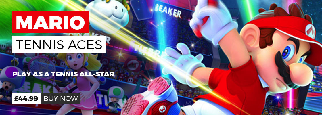 Mario Tennis Aces Out Now on Nintendo Switch