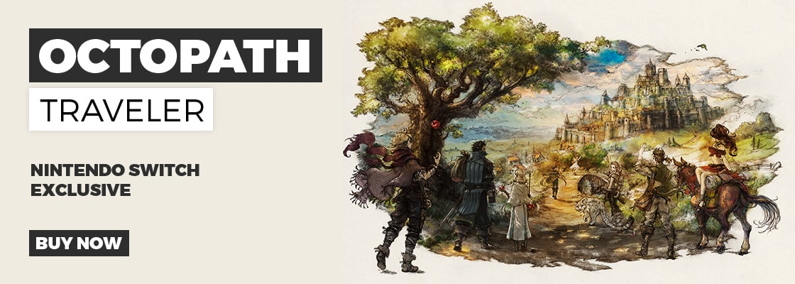 Octopath Traveler Exclusively on Nintendo Switch