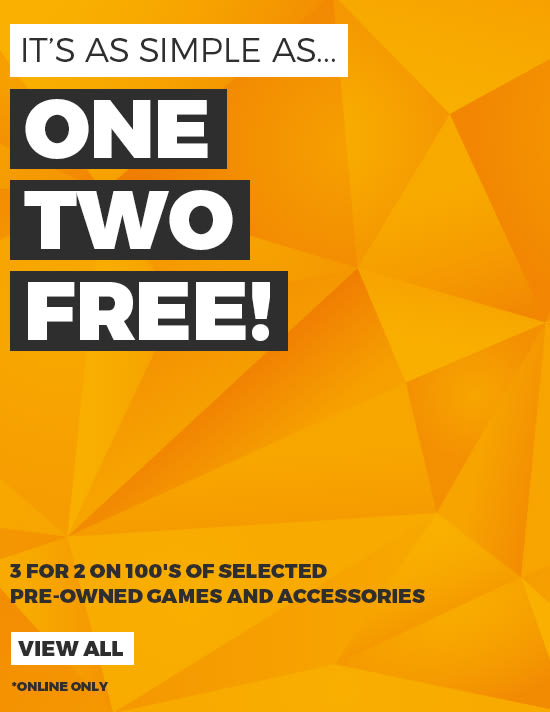 Preowned 3 for 2 on Games - Buy Now at GAME.co.uk