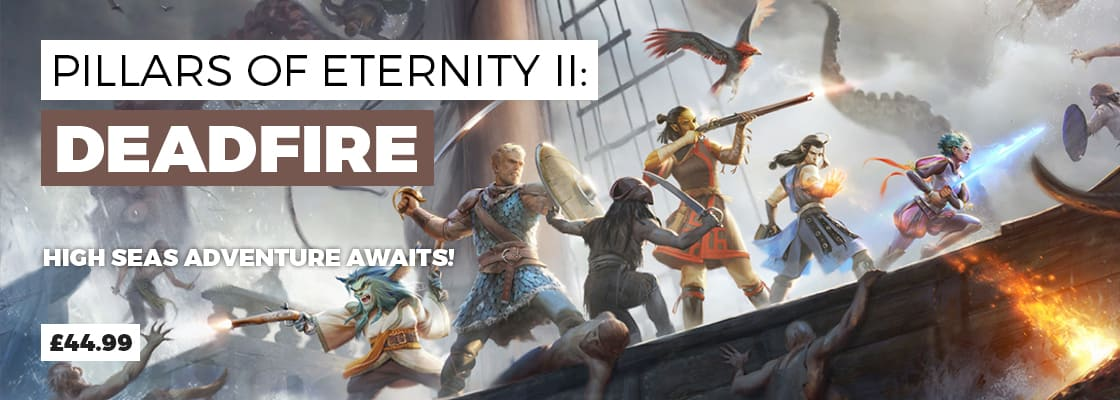 Pillars of Eternity 2 Deadfire for PC - Pre-order Now at GAME.co.uk