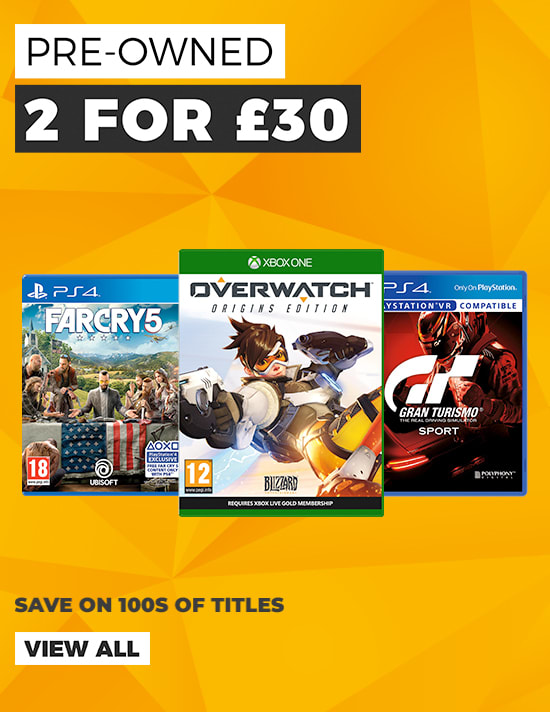 2 for £30 on Selected Pre Owned Games