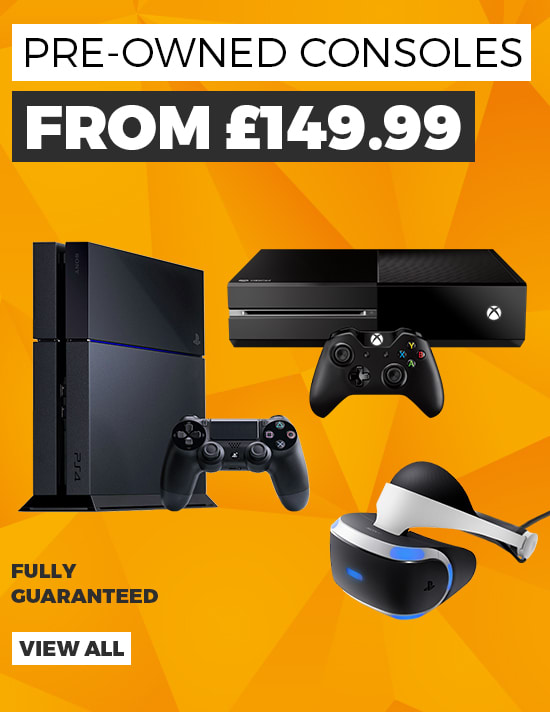 Pre-owned Consoles with 12 Month Guarantee - See All