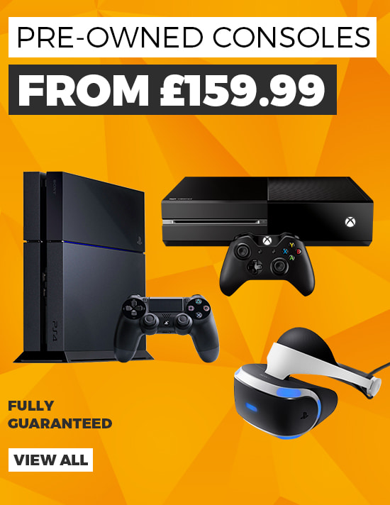Pre-owned Consoles with 12 Month Guarantee - Buy Now at GAME.co.uk