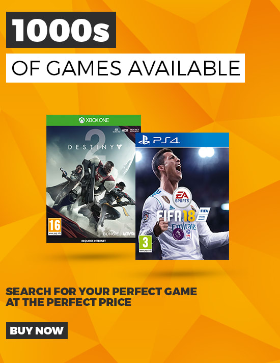 Pre-owned - 1000s of Games Available - Buy Now at GAME.co.uk