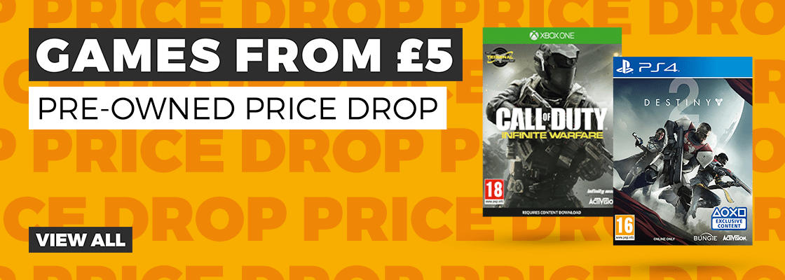 Pre Owned Price Drop at GAME.co.uk