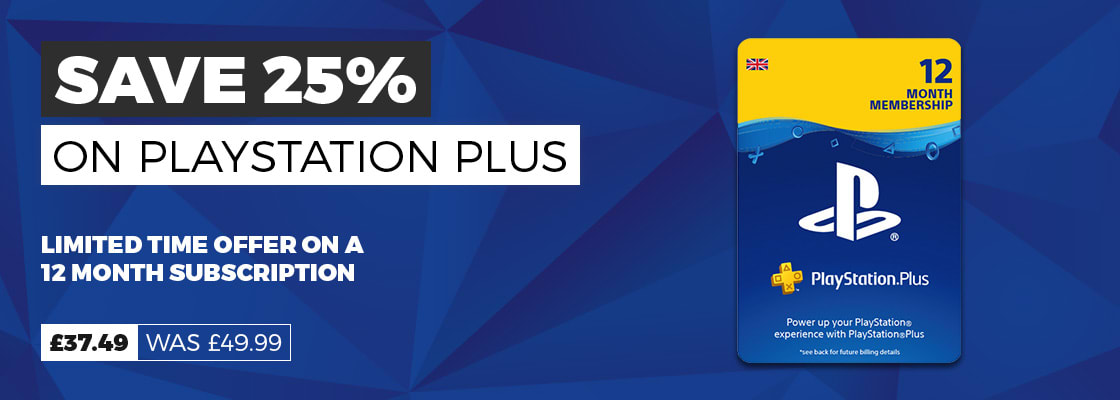 PlayStation Plus Subscriptions Offer at GAME.co.uk